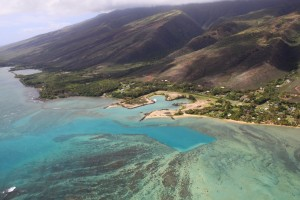 Aerial view of Pukoo