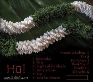 hu, Zelie Duvauchelle, Hawaiian music,
